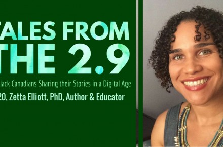 Tales-from-the-2.9-—-The-Black-Canadians-Sharing-their-Stories-in-a-Digital-Age-—-Vol.-2-20-Zetta-Elliott-PhD-Author-Educator-Featured-Image